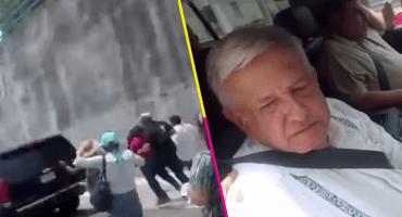 En Oaxaca, le caen a AMLO y le reclaman: '18 años apoyándolo para que llegue y me corran'
