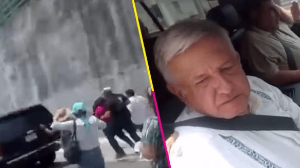En Oaxaca le caen a AMLO y le reclaman: '18 años apoyándolo para que llegue y me corran'