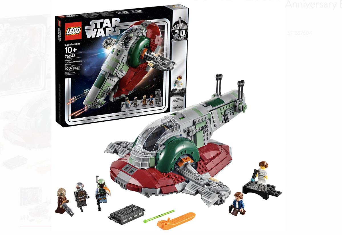 Aeronave de Lego Star Wars