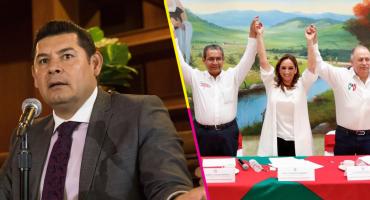 Tras polémica con Barbosa, el PRI 'levanta la mano' para recibir a Alejandro Armenta en Puebla