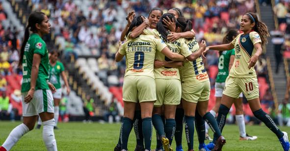 ¡Vive el campeón! América se metió a semifinales de la Liga MX Femenil