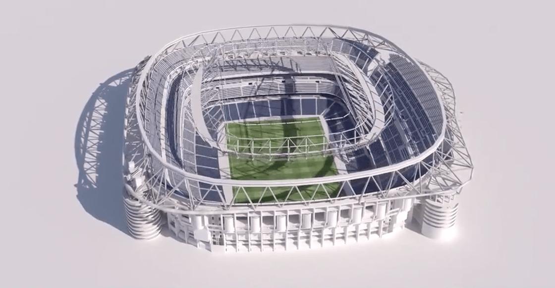 """""""El mejor estadio del mundo"""": Así será el nuevo Santiago Bernabéu"""