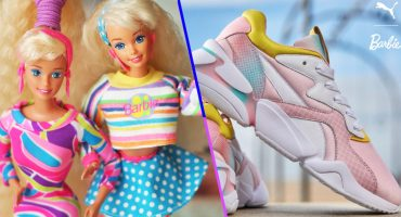 ¡Puma lanzó un nuevo modelo de tenis inspirado en Barbie!