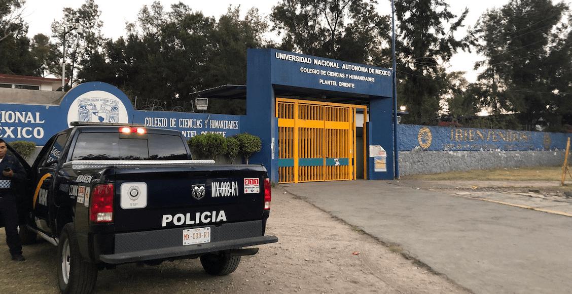 'Sin indicios de que el disparo vino de fuera': PGJ sobre la alumna asesinada en el CCH Oriente
