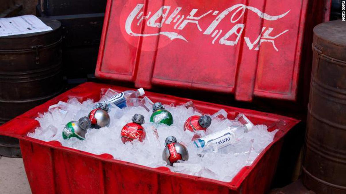 Refrescos conmemorativos de Coca Cola y Star Wars