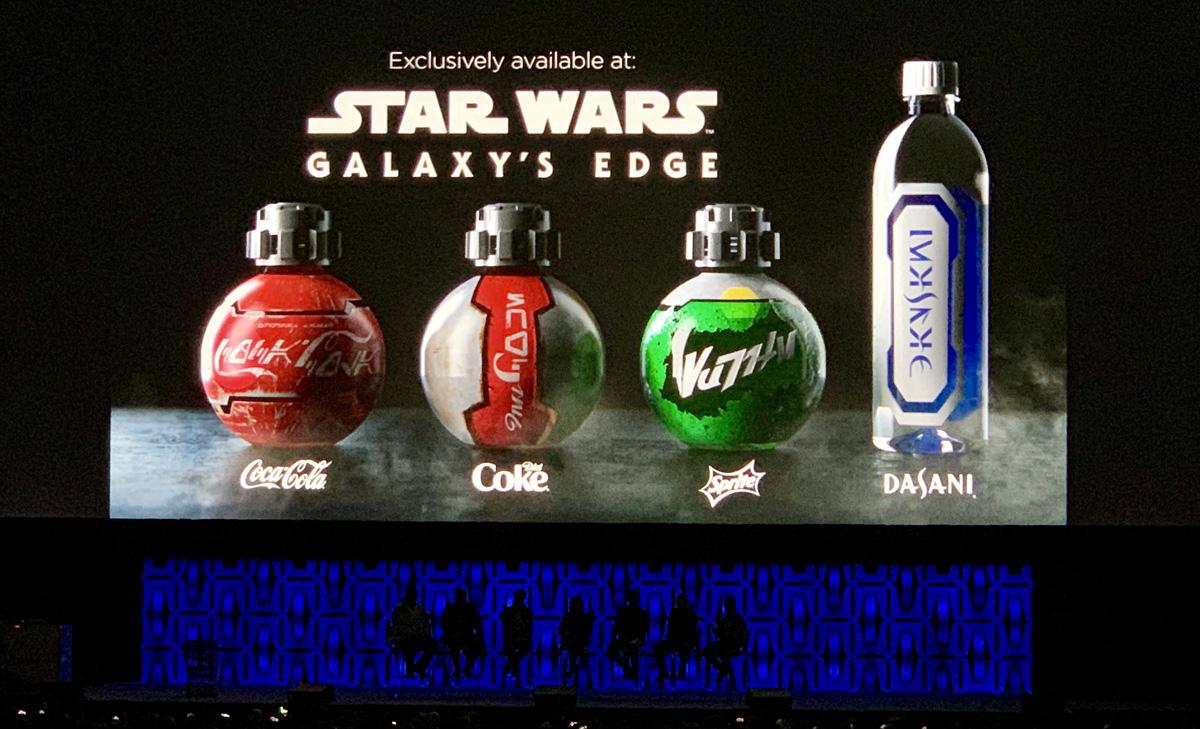 Coca Cola en forma androide en Star Wars Galaxys Edge
