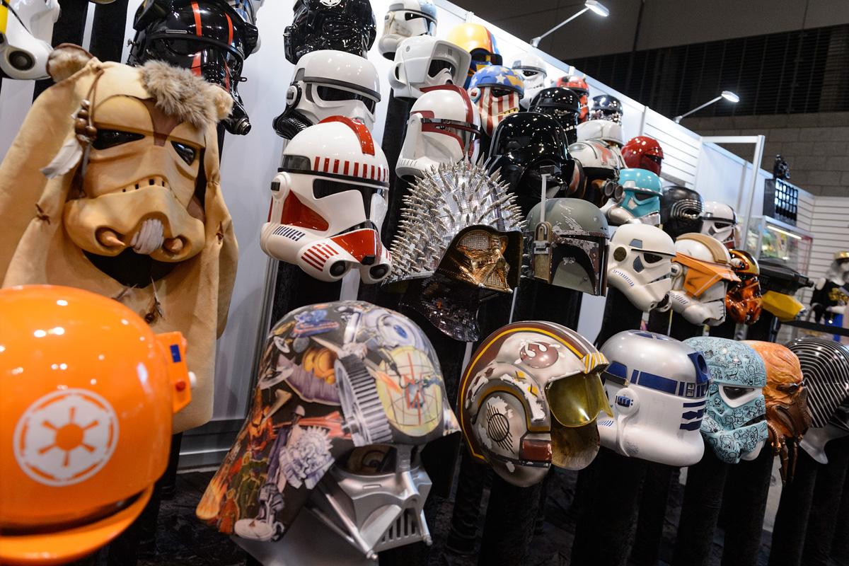 Colección de Cascos de Star Wars