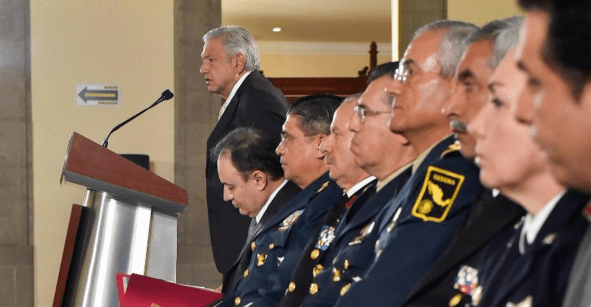 'Es mi nueva función' pero el comandante no tiene los detalles de la Guardia Nacional