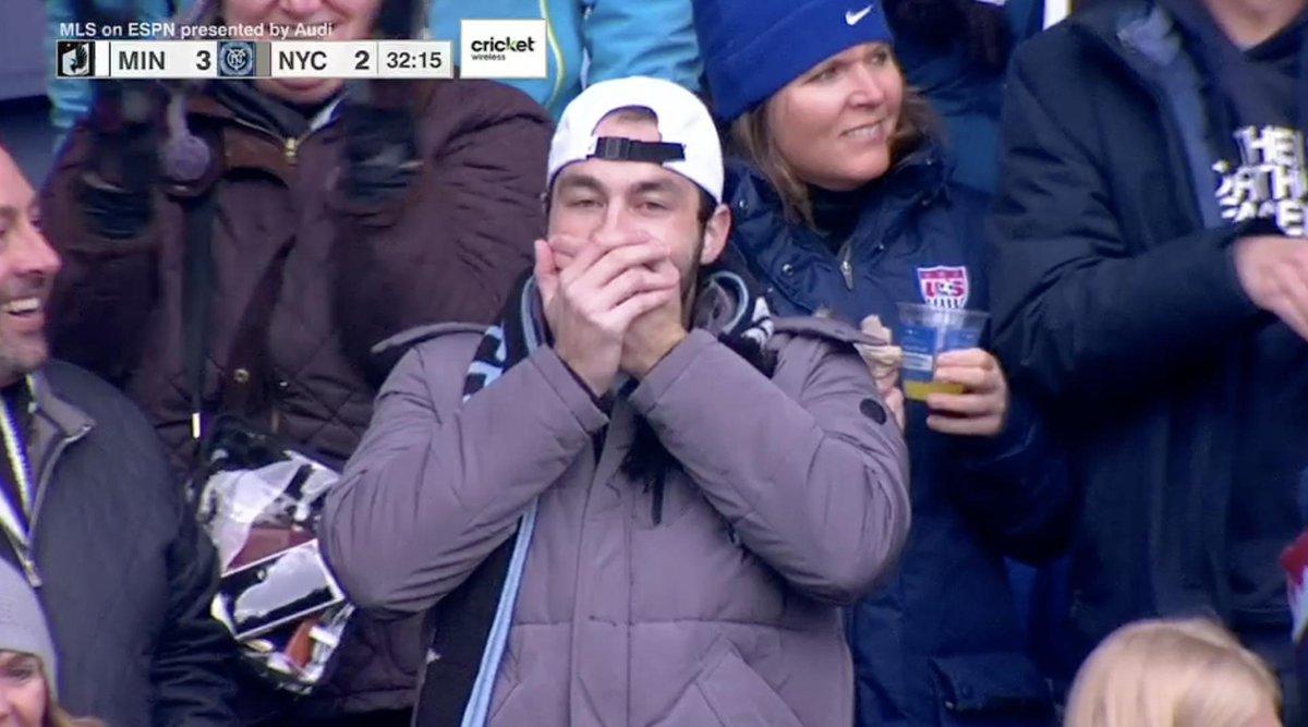 El penoso autogol del portero del New York City FC que se hizo viral en la MLS