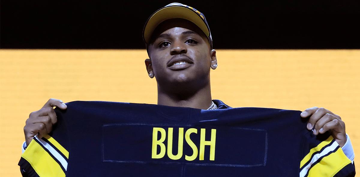 ¿Quién es Devin Bush, la primera selección de los Steelers en el Draft 2019?