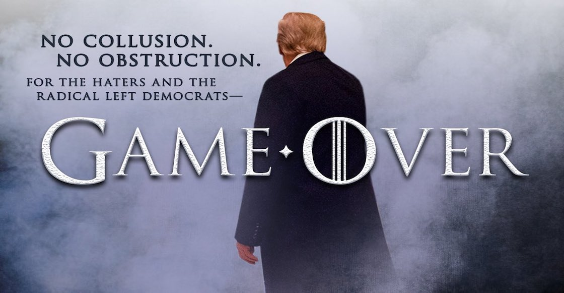 'Game Over': Informe Muller descarta conspiración Trump-Rusia