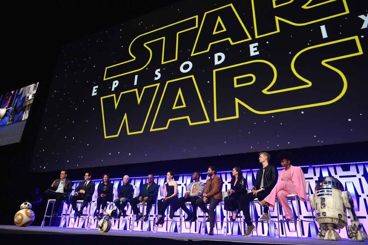 Panel de Finn en el trailer de Star Wars The Rise Of Skywalker