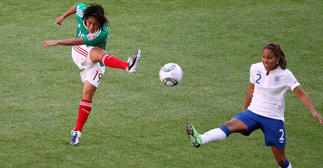 El gol de Mónica Ocampo nominado al mejor en la historia del Mundial Femenil