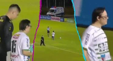 ¡De crack! El portero del Peñarol cumplió el sueño de un fan con síndrome de down