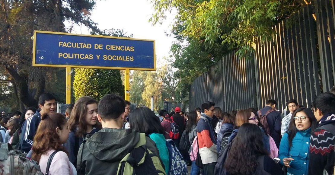 A paro la Facultad de Ciencias Políticas de la UNAM por muerte de estudiante en CCH Oriente