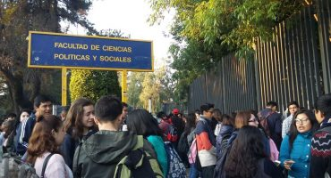A paro la Facultad de Ciencias Políticas de la UNAM por asesinato de estudiante en CCH Oriente