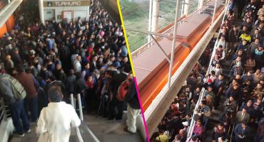 Otra vez: usuarios reportan fallas en la Línea 12 del Metro CDMX