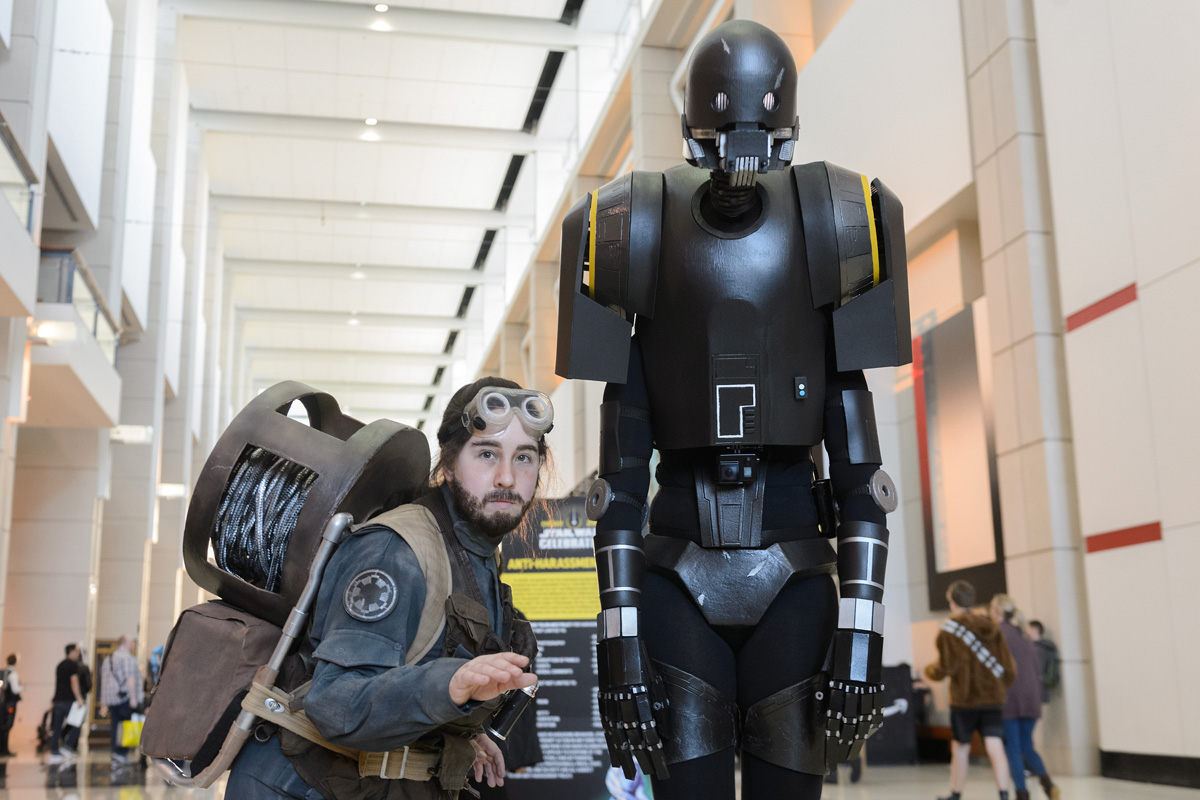Guerra de Cosplay en Star Wars Celebration 2019