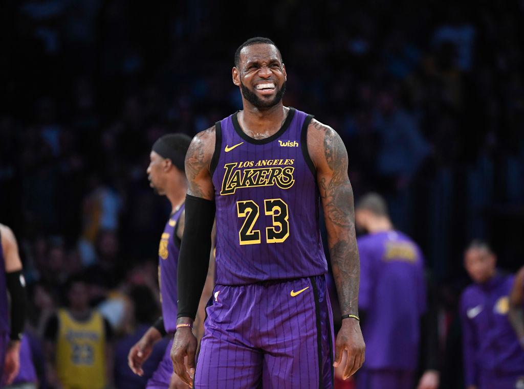 LeBron James y los Lakers, líderes en venta de camisetas