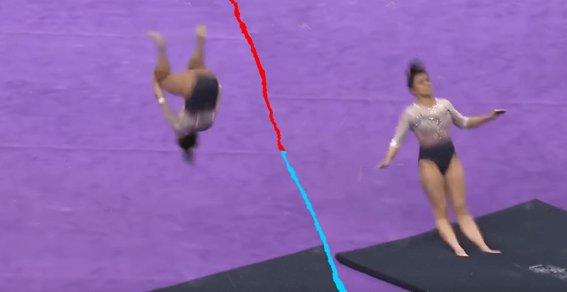 Una gimnasta anunció su retiro tras romperse las dos piernas en competencia