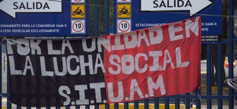 A 75 días de la huelga: SITUAM pide la 'intervención directa' de AMLO