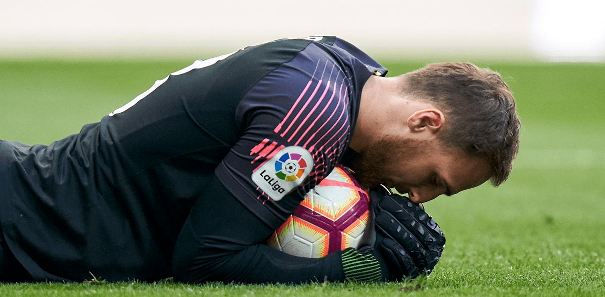 Jan Oblak renovó y busca una marca histórica con el Atlético de Madrid