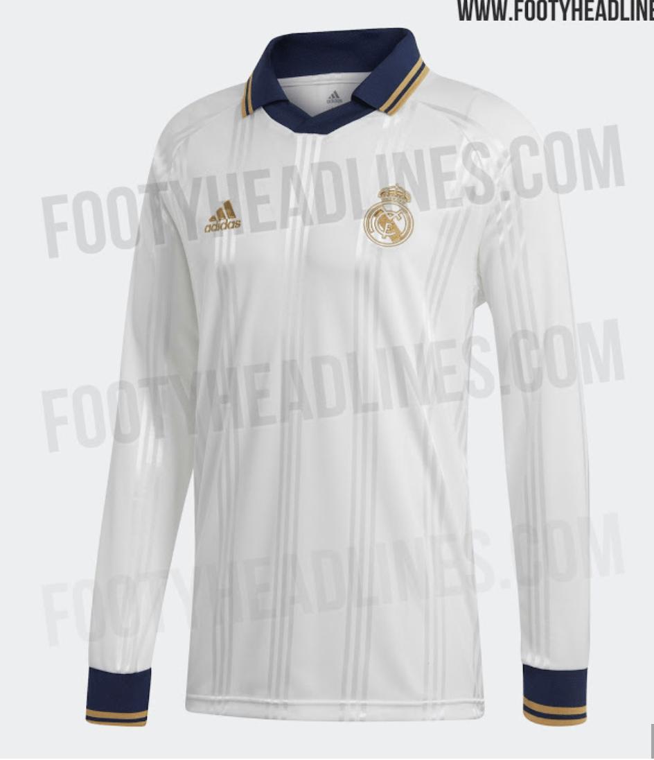 Real Madrid ya está pensando en la próxima temporada y vaya que sí. El conjunto blanco tendría lista su playera retro para el siguiente año.