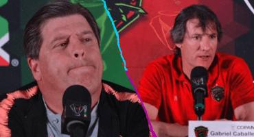 Las frases de Miguel Herrera y Gabriel Caballero antes de la final de la Copa MX