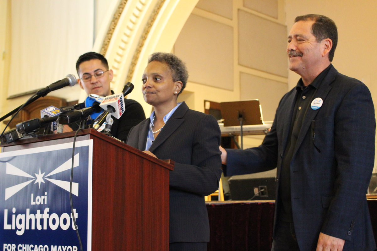 Lori Lightfoot alcaldesa de Chicago