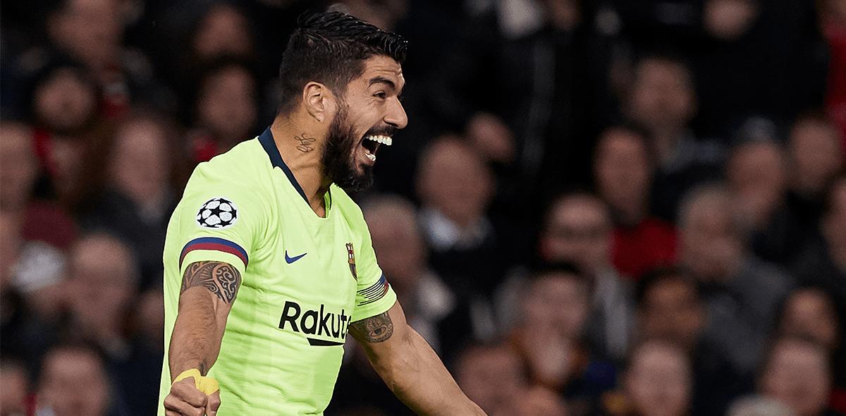 El gol 20 de Luis Suárez en Champions League que lo metió a la historia del Barcelona