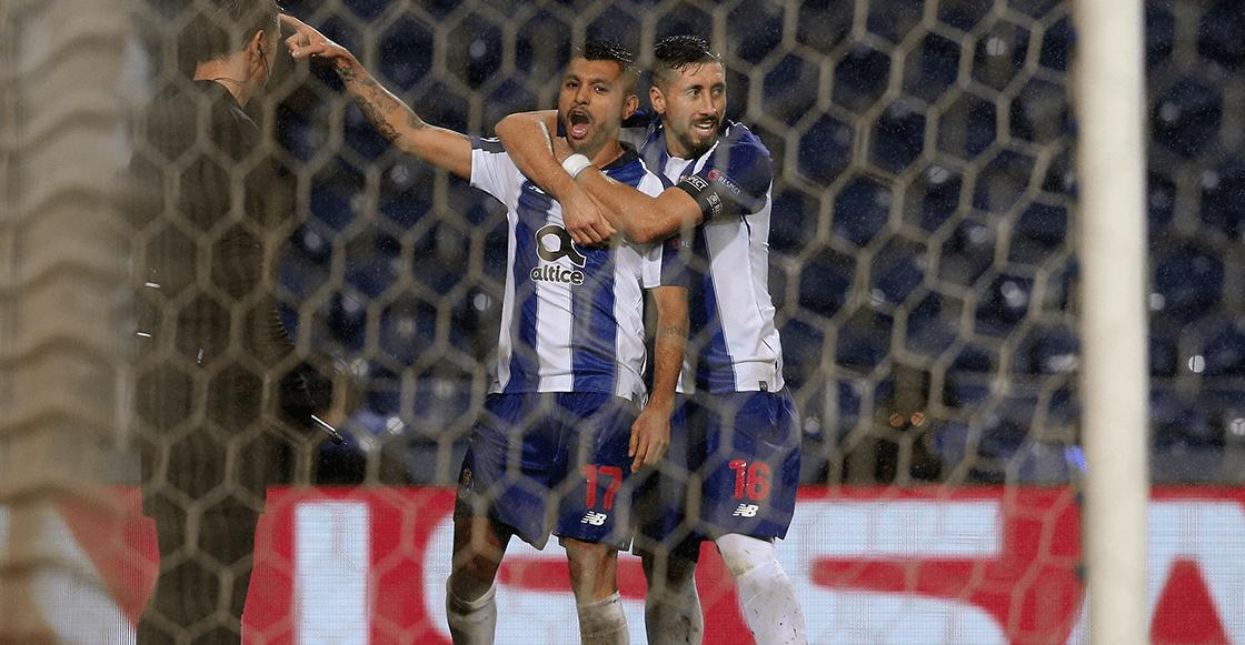 Los récords que alcanzaron Héctor Herrera y 'Tecatito' Corona con el Porto