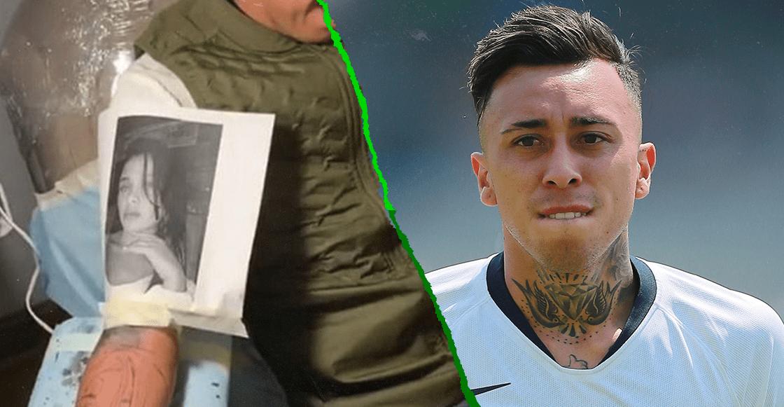 La hora sad: Martín Rodríguez se tatuó a su pareja y ella lo cambió por un jugador de Cruz Azul