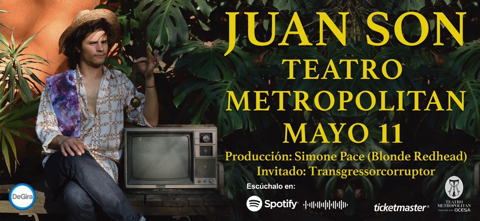 ¡Prepárate que tenemos boletos para Juan Son en el Teatro Metropólitan!