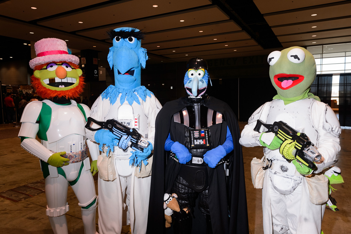Los Muppets en Star Wars Celebration 2019