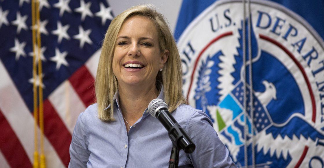 ¡Tsss! Renuncia la secretaria de Seguridad Nacional de Estados Unidos