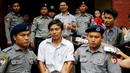 El último recurso fue rechazado: periodistas enfrentan 7 años de prisión por revelar los crímenes de Myanmar