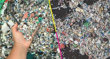 Mundo enfermo y triste: basura y plástico inundan una playa en Tenerife
