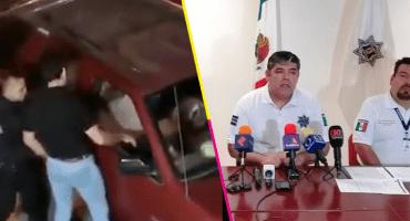 Por robo contra automovilista, suspenden a tres policías en San Luis Potosí