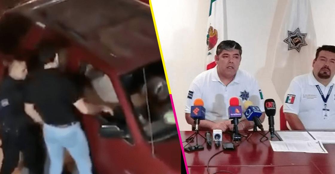 Por robo contra automovilista, suspenden a 3 policías de San Luis Potosí