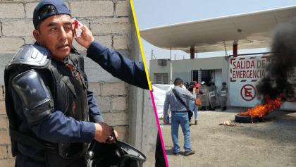 Protesta en Ciudad Administrativa, Oaxaca, desencadena enfrentamiento entre policías y la CNPA
