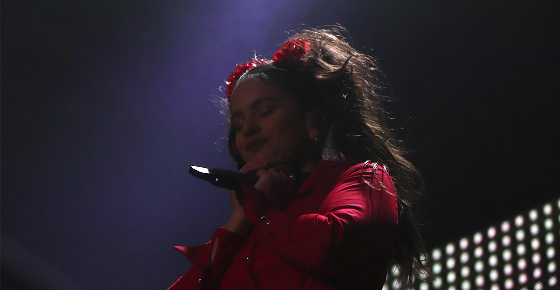 Una mujer de fuego: Rosalía enamoró a los mexicanos en Ceremonia 2019