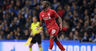 Sadio Mané es el segundo máximo goleador del Liverpool en Champions League