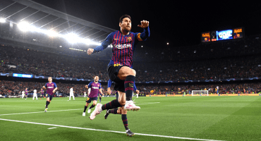 ¡Por fin! Seis años después Messi volvió a anotar en Cuartos de Final de Champions League