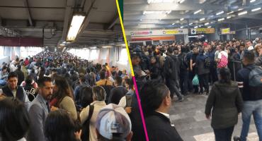 ¿Qué pasó? Así reportaron los usuarios el caos en la estación Pantitlán del Metro CDMX