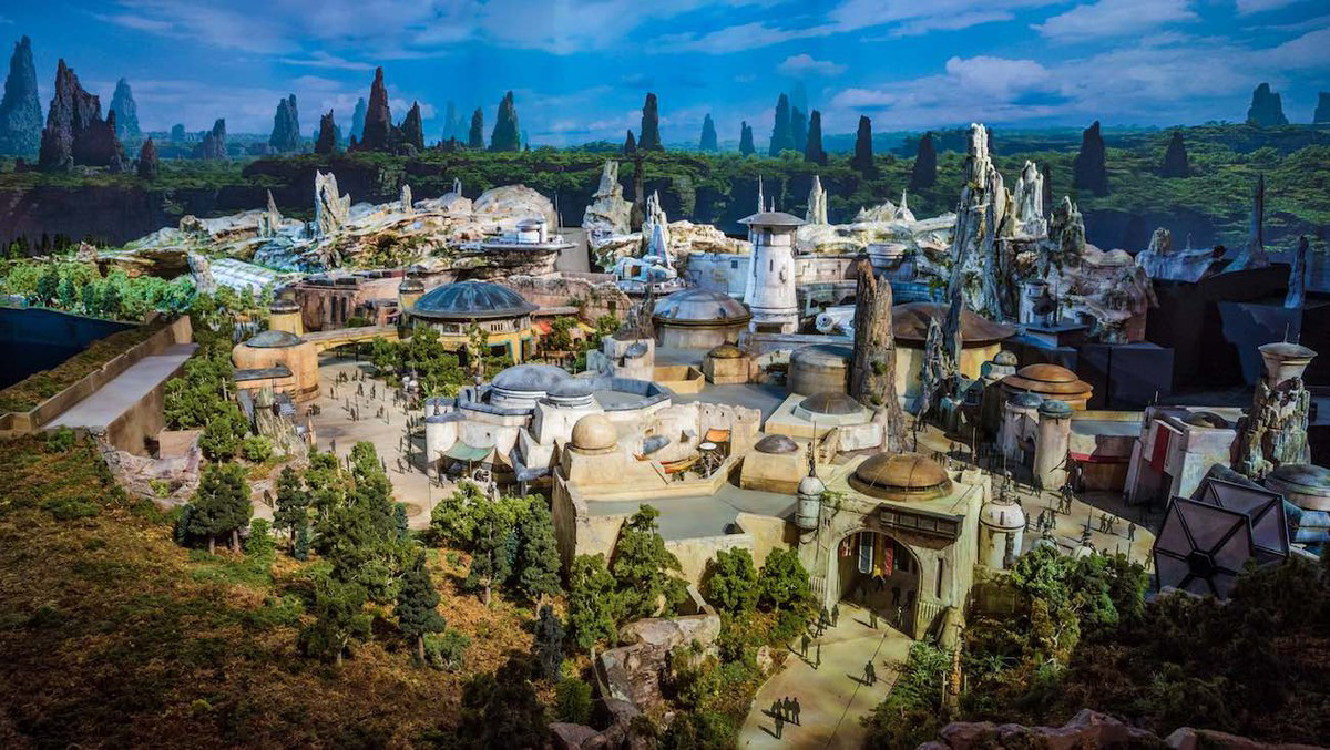 Maqueta de Star Wars Galaxy's Edge