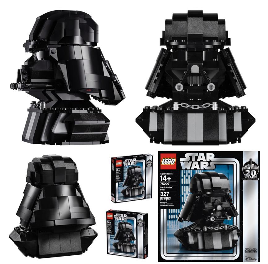 Casco de Darth Vader de LEGO
