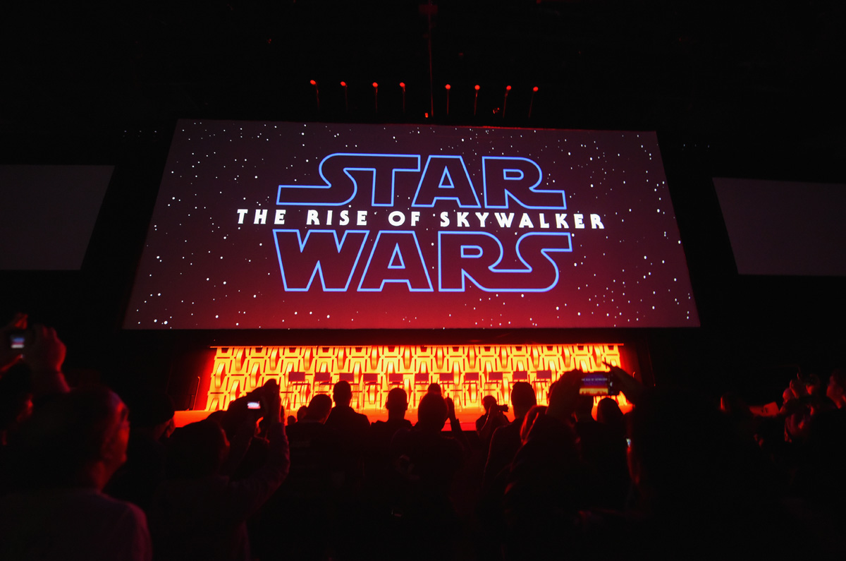 Presentación de Star Wars: The Rise Of Skywalker