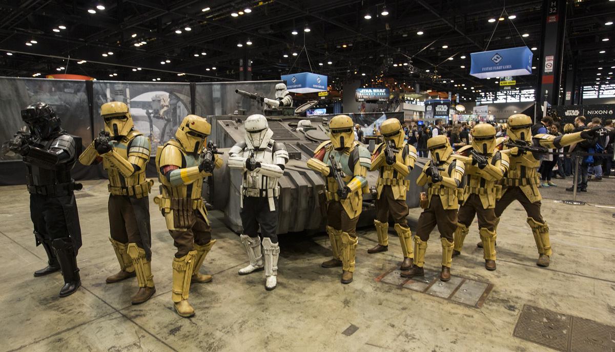 Ejercito de Stormtroopers de Star Wars