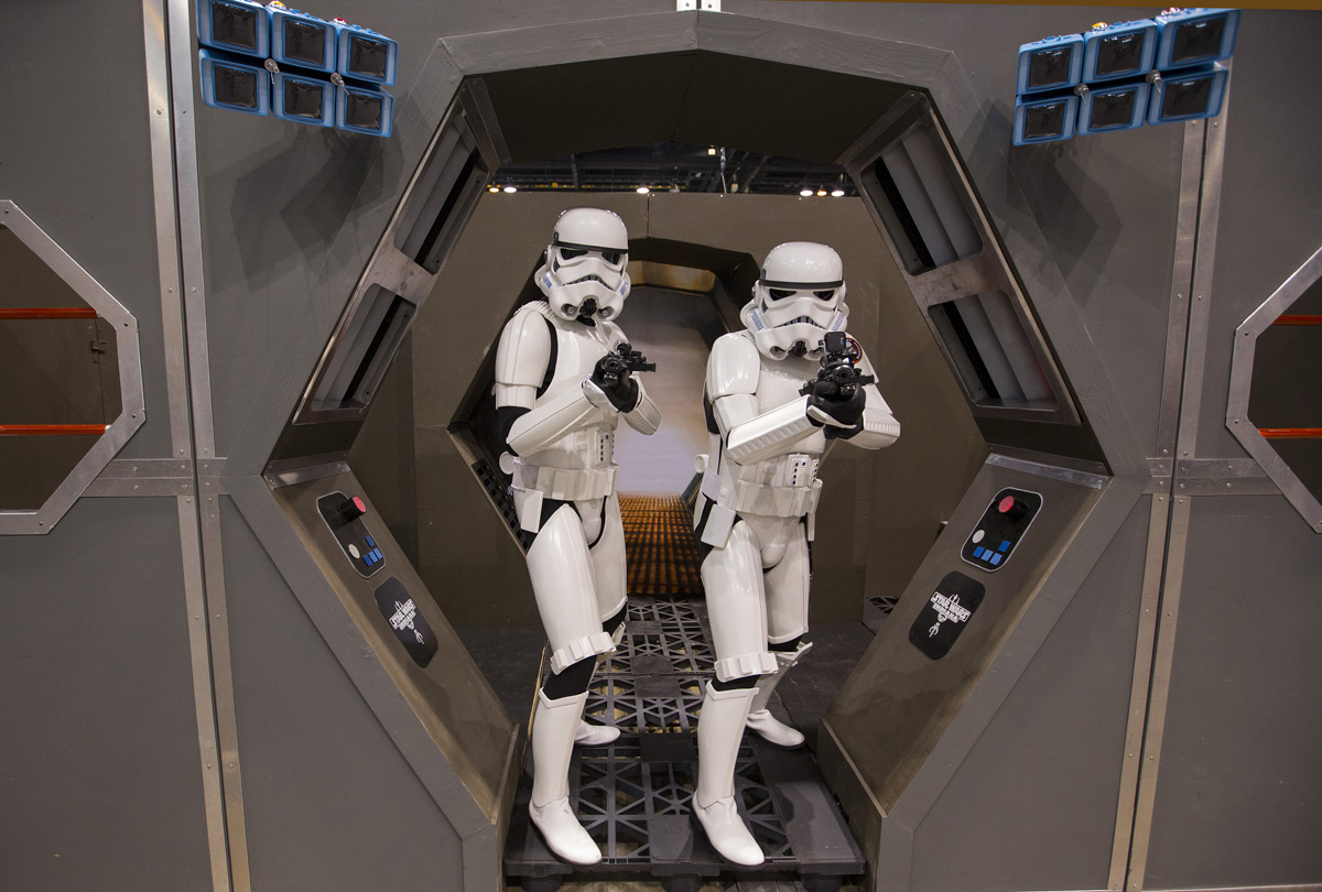 Stormtroopers en Star Wars Celebration 2019