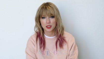 Taylor Swift presenta su nuevo single ME
